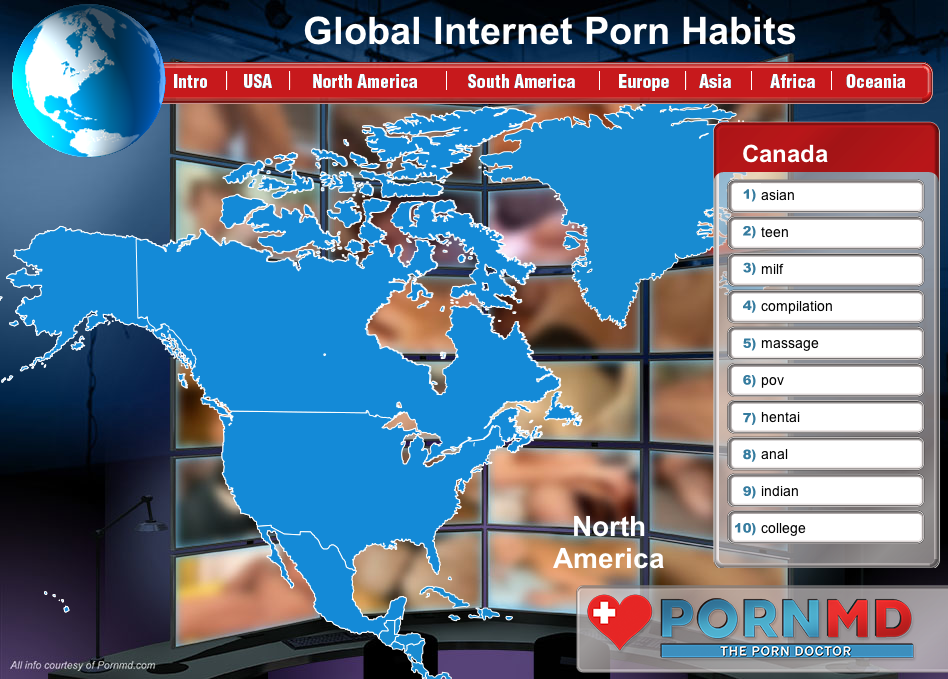 Porn searches world wide consider