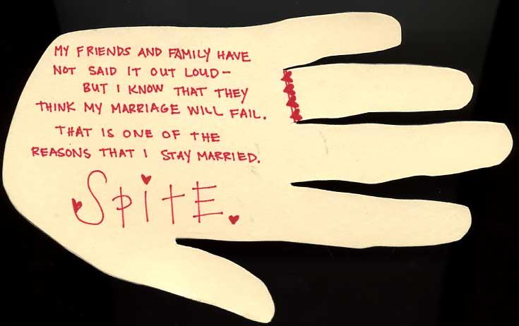 spite