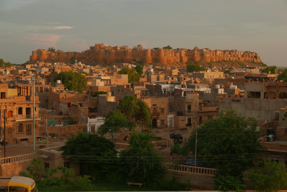 Veiw from restaurant of Jaisalmer Fort