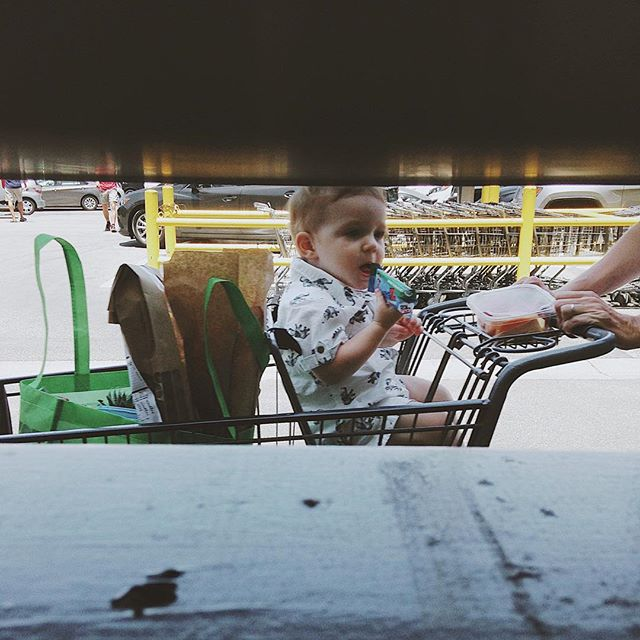 Grocery shopping with Bae. #_renrut_ #losangeles