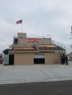 Vernon FD Live Fire Training Facility