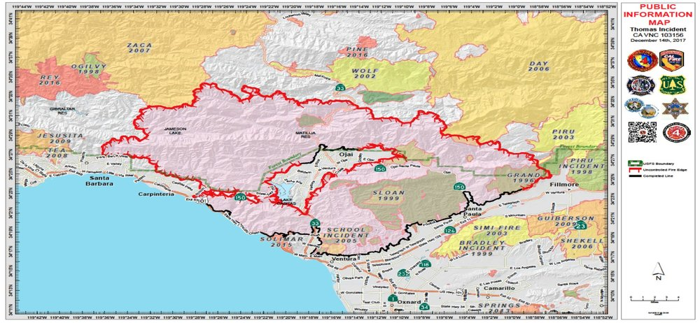 Ventura County Fire History