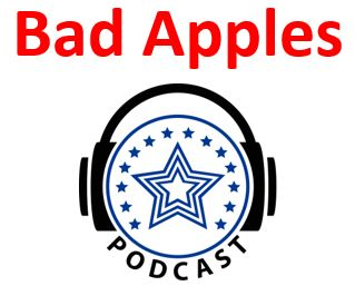 - Podcast: Travis and Brit discuss Bad ApplesIn this podcast, Travis Dotson and Brit Rosso discuss the concept of the