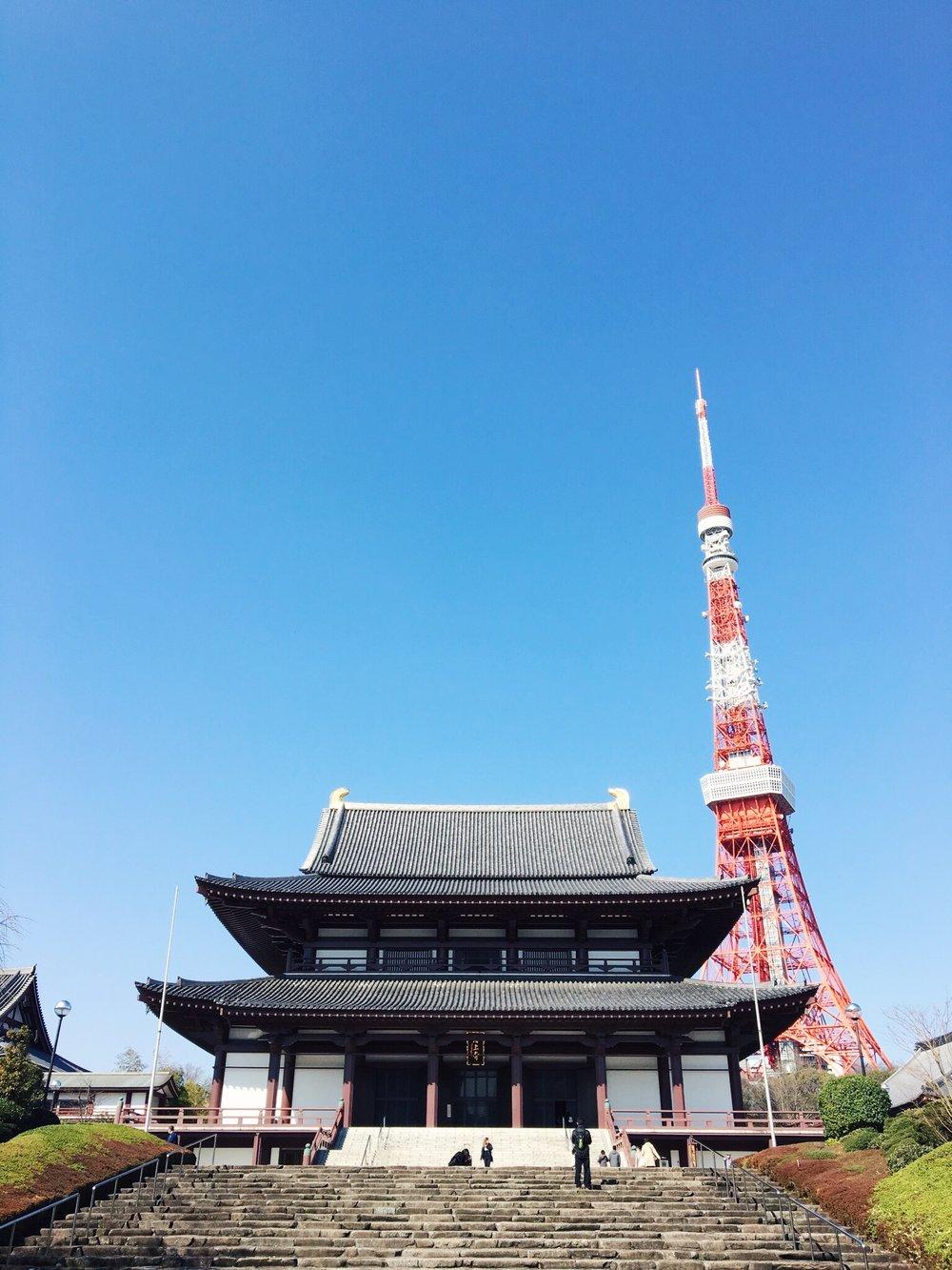 Zozo-ji Temple