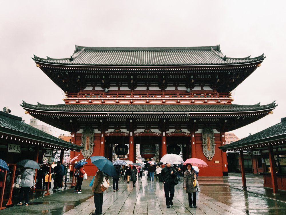 "Kaminarimon 雷門 ""Thunder Gate"""