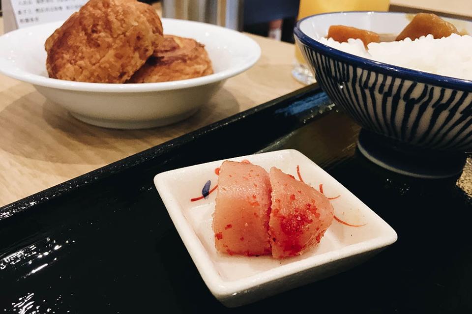 Mentaiko (pollock roe), a Fukuoka specialty!