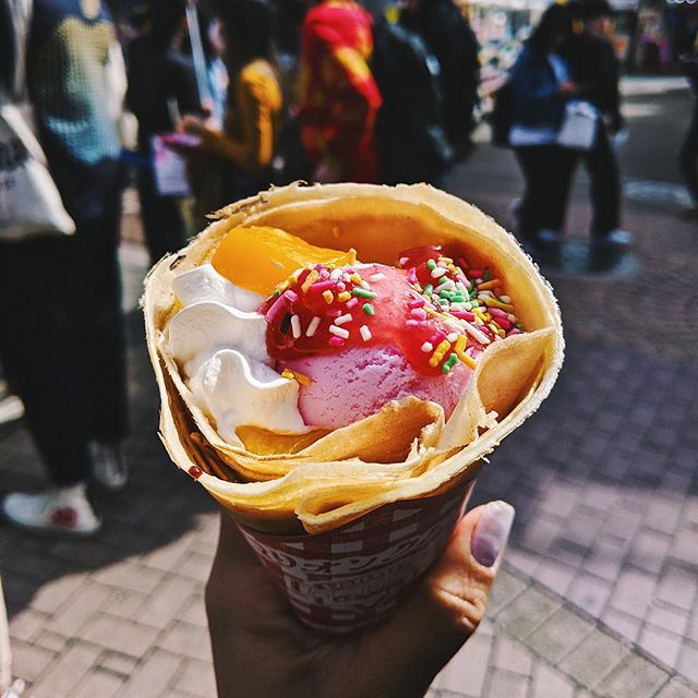 "We went on a whirlwind of a food tour in Harajuku with @arigatojapan! 🤤🍦🍘🍭 So many hidden gems and local favorites were shared with us, it was like discovering Harajuku for the first time! Read all about the ""Crazy, Cute, Kawaii Food Tour by Arigato Japan on our blog 🤗 #linkinbio #thosewhowandr.com"