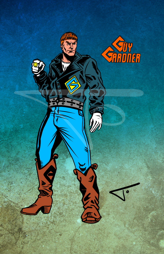 Guy Gardner Yellow Ring