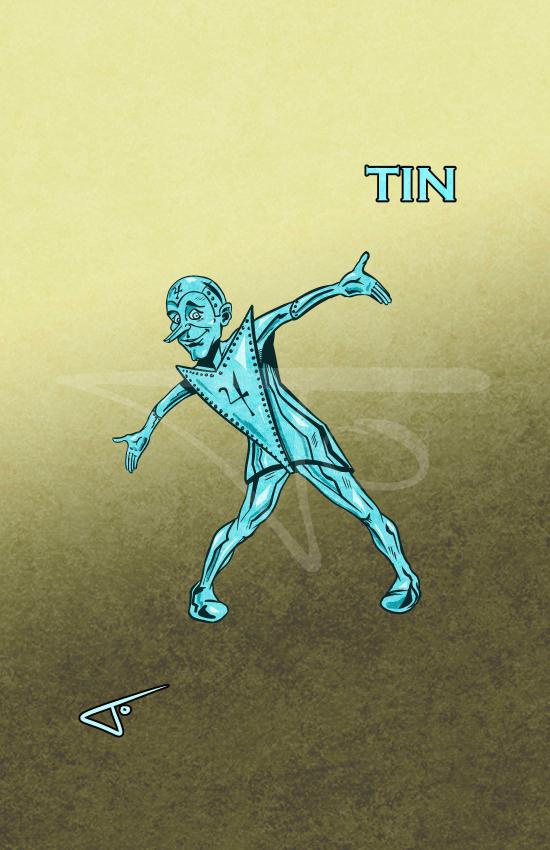 Tin Metal Men