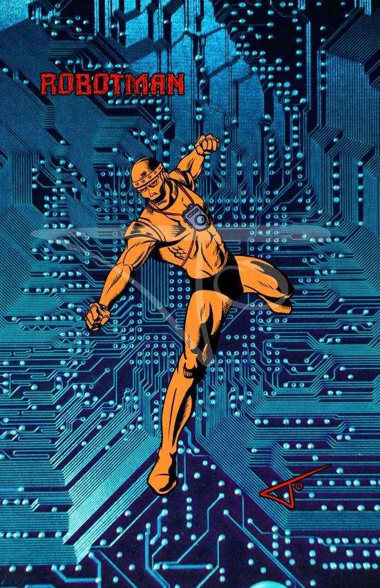 Robot Man Doom Patrol