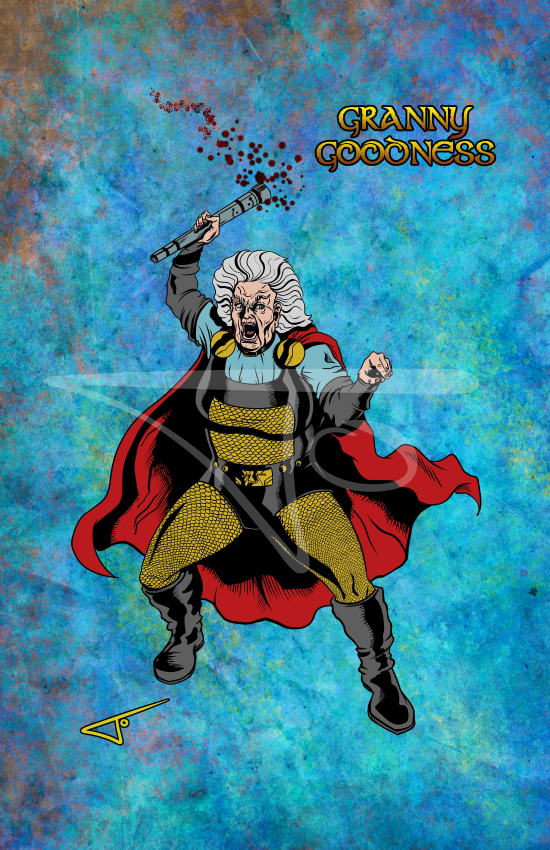 Granny Goodness New Gods