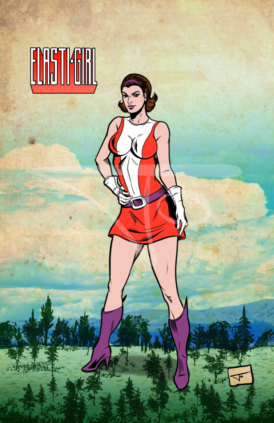 Elastic Girl Doom Patrol