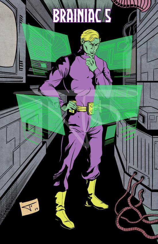 Brainiac 5 Legionnaire