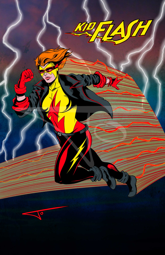 Kid Flash Kingdom Come