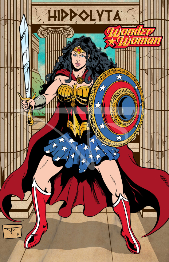 Wonder Woman Hippolyta