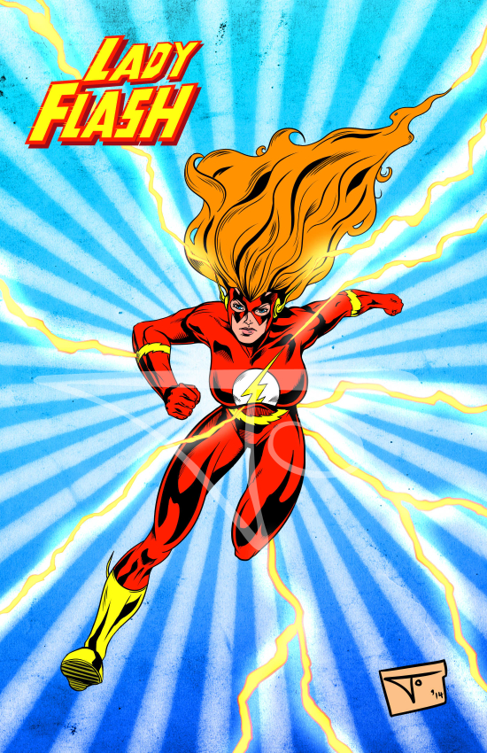 Lady Flash