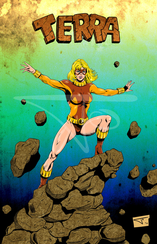 Terra Teen Titans