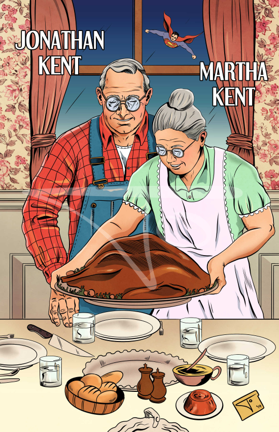 Jonathan and Martha Kent