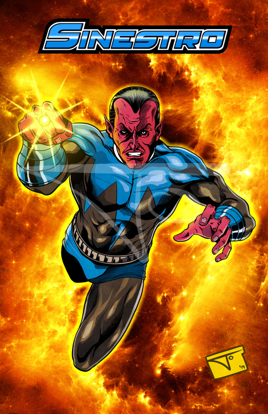 Sinestro Blue Uniform