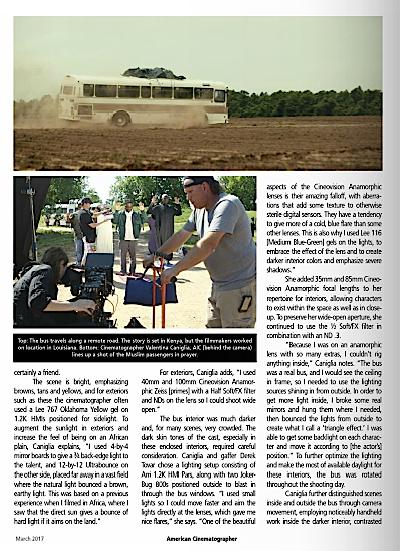 Valentina Caniglia article american cinematographer 2.png