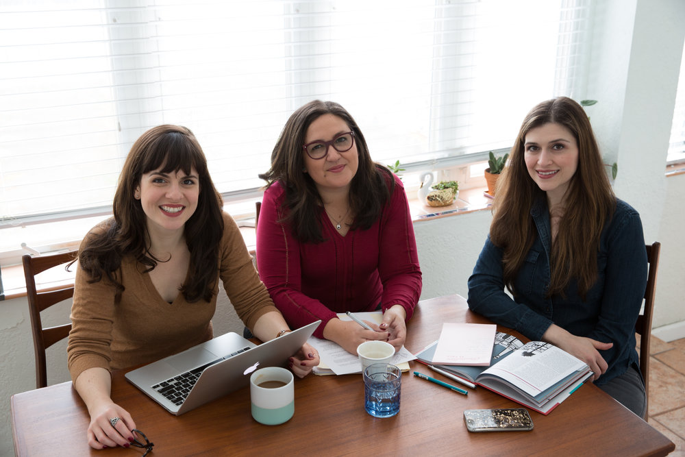 Pitch Her Productions Team: Caitlin, Gloria, Chanel
