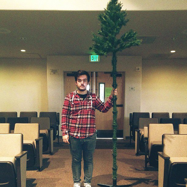 Ryan Powell: Touring Member, tree man, hipster, man of God.