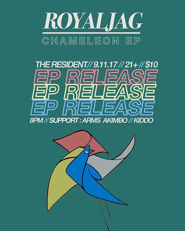 "Seriously, thanks SO much everyone who came out last week to catch our first show ever, you guys are the best! We had so much fun at @residentdtla last Monday that we just HAD to come back - we have the pleasure of opening for our buddies in @royaljagband along with our other buddies @armsakimbo_official on the 11th! Come see how quickly we've jumped the shark inbetween our first and second show, we're literally only doing ""Swish Swish"" for 30 minutes 🦈"