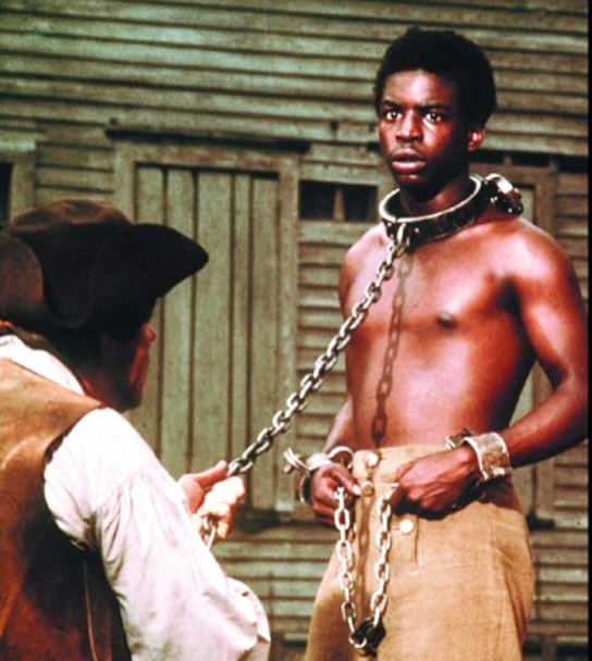 "1977:  19-year-old  LeVar Burton  made his acting debut in the award-winning TV miniseries as ""Kunta Kinte"""