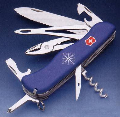 Carry a pocket knife.