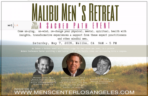 "29th Annual Spring Retreat, ""A Gathering of Men.""     Click here to register."