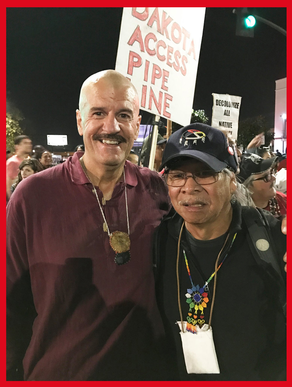 Wounded Knee Deocampo, honored Miwok elder and long-time protector of the rights of indigenous peoples both here in San Francisco Bay and nationally.