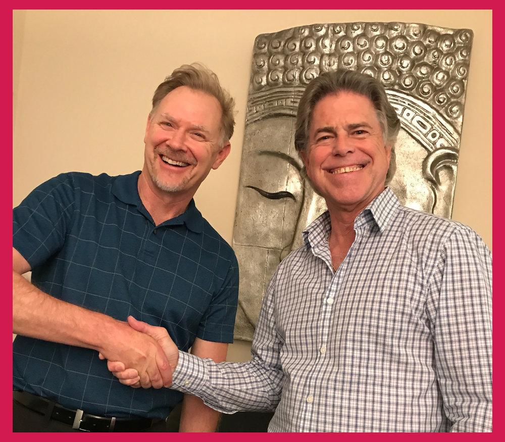 Rod Louden & MCLA Executive Director Dr. Stephen Johnson