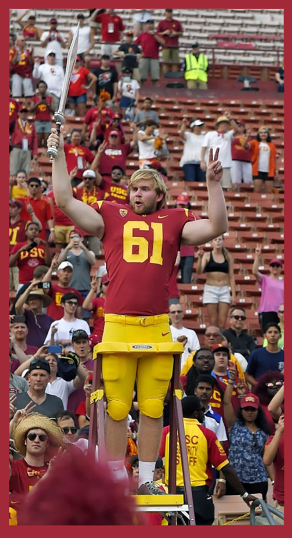 USC LONG-SNAP CENTER JAKE OLSON