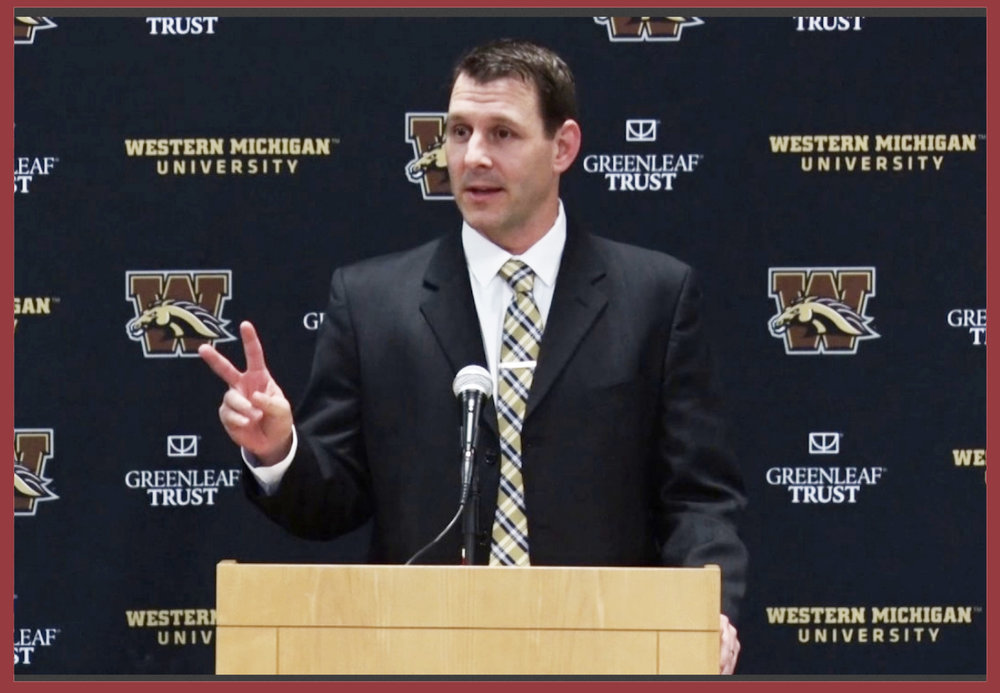 WESTERN MICHIGAN HEAD COACH TIM LESTER