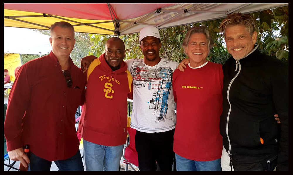 (L-R): Captain Rick Brandelli, Levar Burton, Captain Mike Henry, Dr. Stephen Johnson, Clayton Norcross