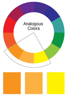 Many Times In Design We Know A Certain Color May Want To Work With Analogous Colors Allow Us Have Variations Of That Create More Visual