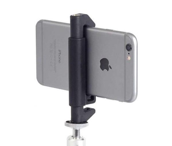 Studio Neat Glif - For butter smooth panoramic photos and steady videos, the Glif lets you connect any mobile device to a tripod.
