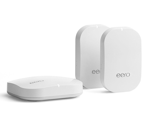 Eero Whole Home WiFi - Eero blankets your home in rock-solid WiFi so whether you are in the office editing an email or responding to a quick email from your backyard, you'll get blistering speeds.