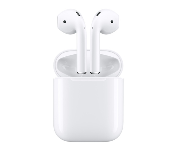 Apple Airpods - Whether its taking an important call or listening to the perfect Spotify playlist, these wireless BlueTooth ear buds can sync to your computer or mobile device.