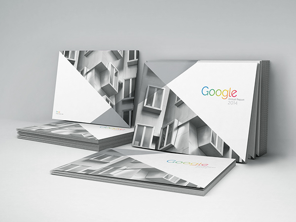 Here is a great example of a well designed bound annual report by Google. Click through to see more images of the report.