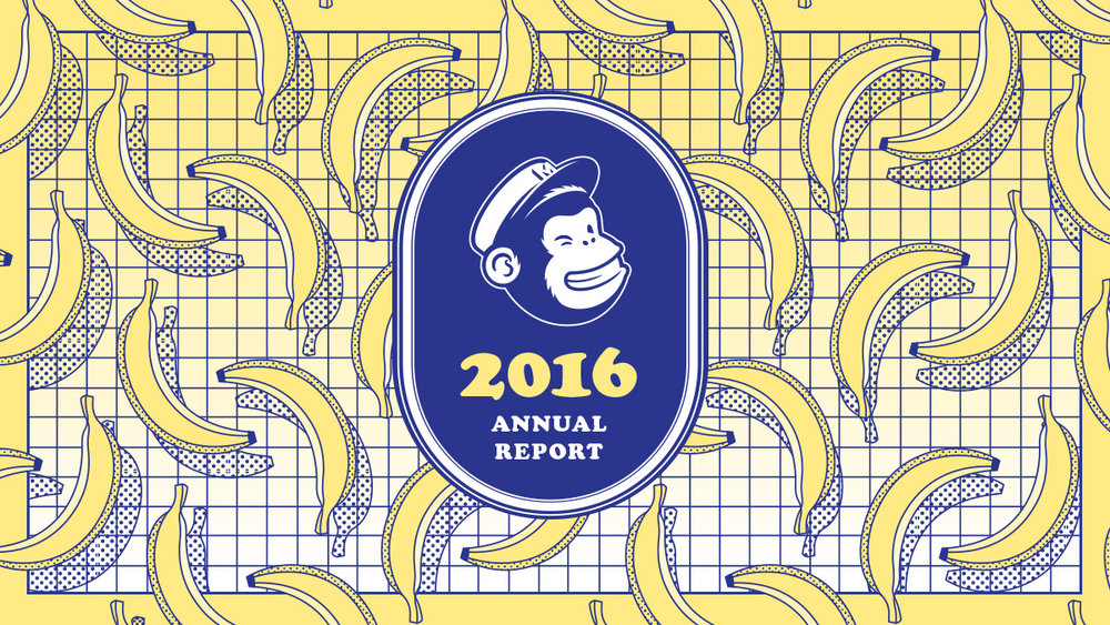 Every year MailChimp creates a great digital annual report. They haven't put out the 2017 one yet so be sure to keep your eyes peeled, and in the meantime click through to look at all the amazing work they put into the design and interactions of their annual report.