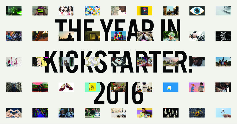 Kickstarter also created a really great web based experience for their 2016 annual report!