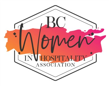 Logo for the BC Women in Hospitality Association