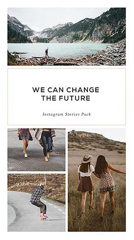Creative Market - Instagram Stories Pack - Pande