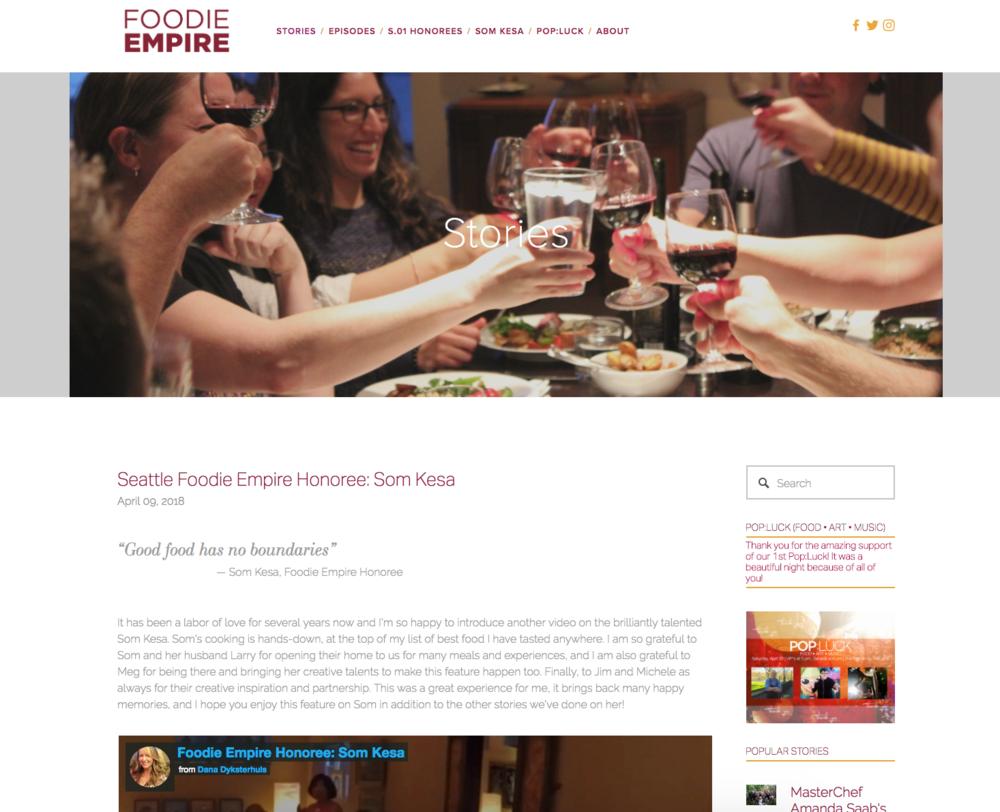 Foodie Empire, Dana Dyksterhuis, BoastHouse