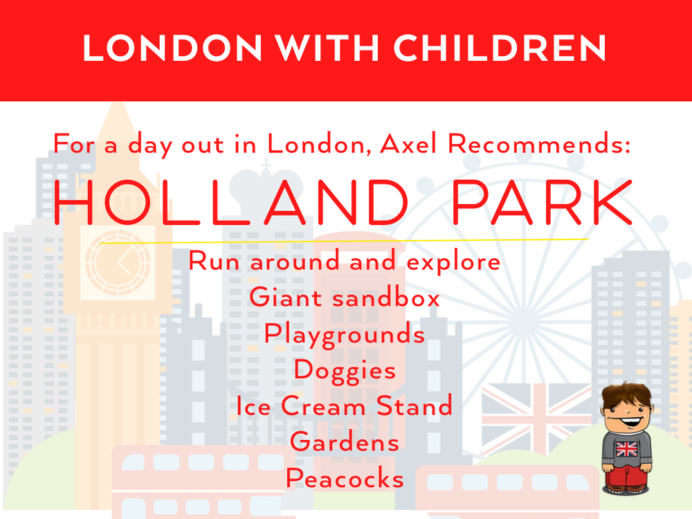 Day Out in London - Holland Park with Kids BoastHouse Dana Dyksterhuis