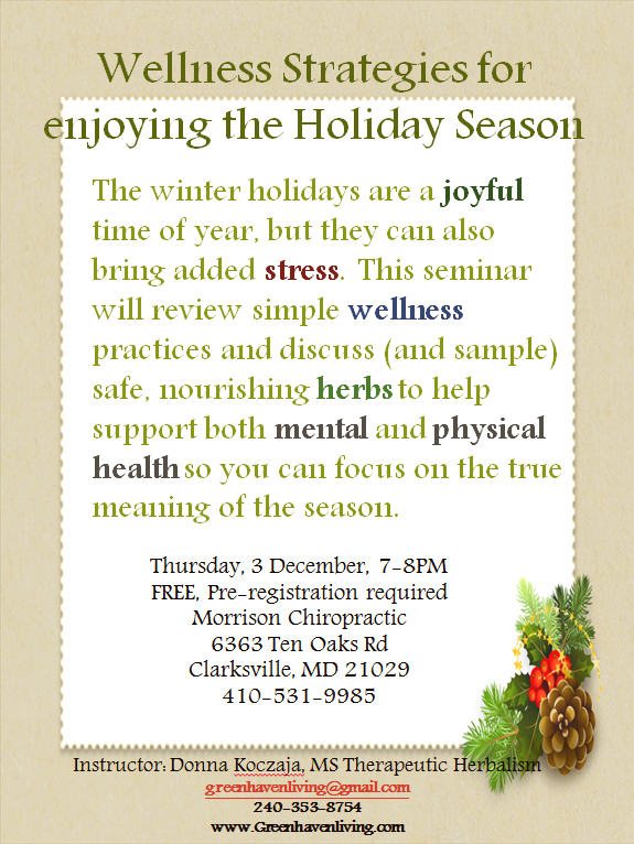 Take advantage of this great FREE seminar being presented by Donna Koczaja in our Clarksville office on the Thursday, December 3rd at 7:00 pm! All you need to do it call either of our offices, or contact Donna to register. See you there!