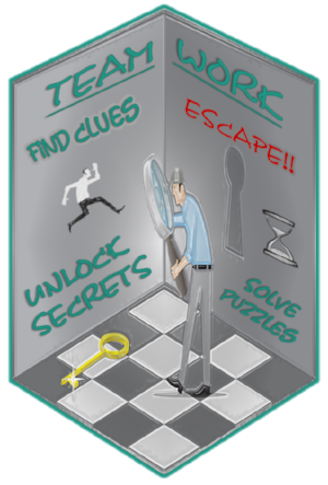 Escape room logo guy in room.png