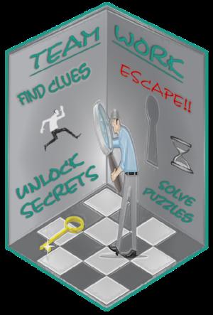 Escape room logo guy in room.png