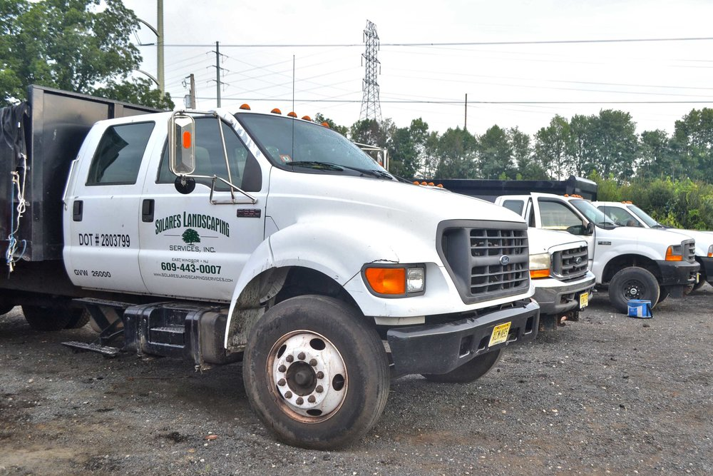 Solares Landscaping Trucks